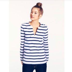 Kate Spade Nautical Striped Long Sleeve Top S